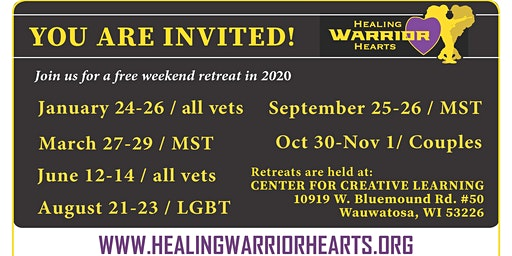 Healing Warrior Hearts - Veterans Retreat - MST
