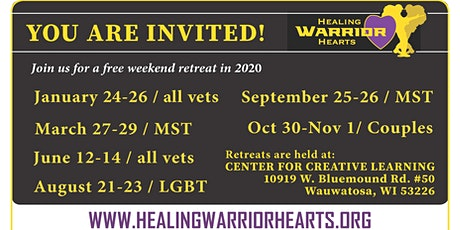 Healing Warrior Hearts - Free Retreat for Veterans tickets