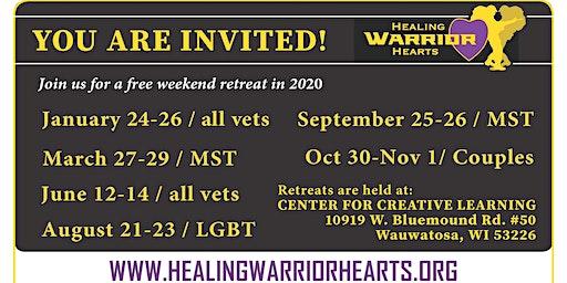 Healing Warrior Hearts - Free Retreat for Veterans