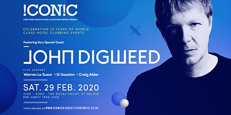 JOHN DIGWEED . iCONiC . 29.02.20 . The Royal Yacht tickets
