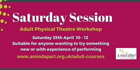 Physical Theatre Workshop tickets