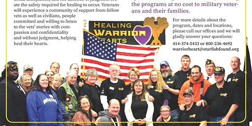 Healing Warrior Hearts - Free Retreat for LGBT Veterans
