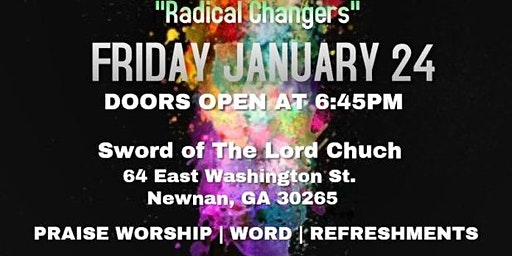 Youth Explosion-Newnan, GA JOIN US!!!