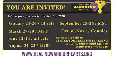 Healing Warrior Hearts - Free Retreats for Veterans - MST tickets