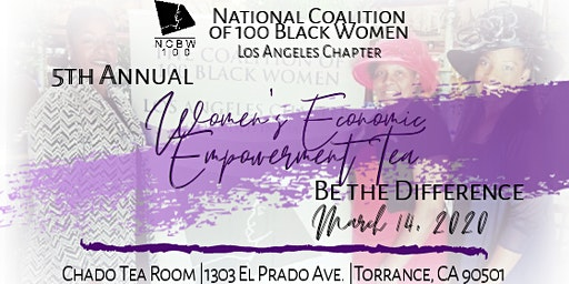 Coalition of 100 Black Women Los Angeles Chapter - 5th Annual Women's Economic Empowerment Tea