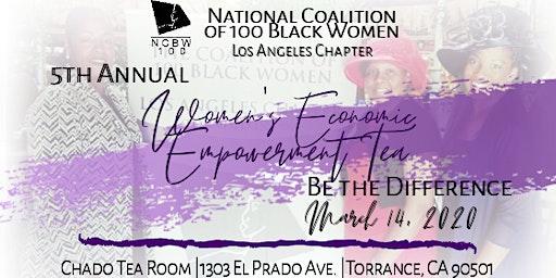 Coalition of 100 Black Women Los Angeles Chapter - 5th Annual Women's Economic Empowerment Tea