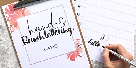 Hand- & Brushlettering Basic Workshop Tickets