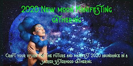 Nature Healing Circles: 2020 New Moon Manifesting  tickets