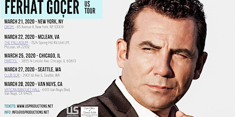 Ferhat Gocer in New York tickets