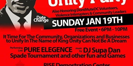 MLK Unity Party Feat. Pure Elegance