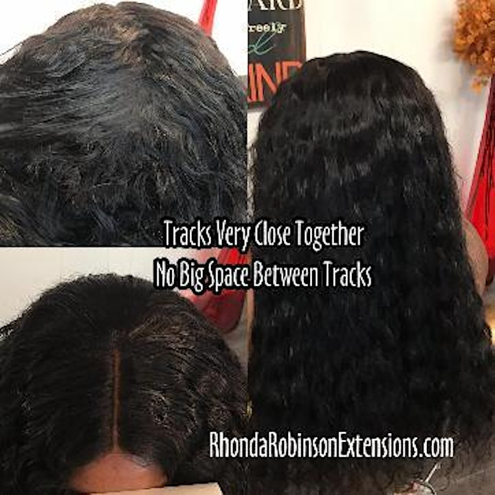 San Francisco CA | Flawless Lace Sew-In Install Class image