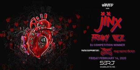 WANTED Events Presents: HEARTBEATZ ft. JINX tickets