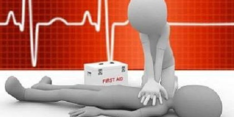 HSE First Aid At Work 2 Day Refresher Course (3 Day full course also Available) tickets