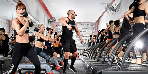 Shred415  free pop-up workout at Omega Sports