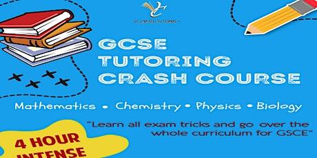 GCSE SCIENCE & MATHS CRASH COURSE tickets