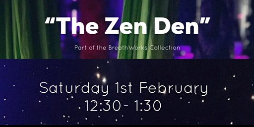 The Zen Den: 1 hr mindfulness session with aerial hammocks (LIMITED AVAILABILITY)