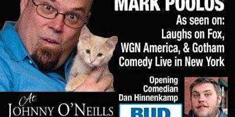 Comedy Show Tickets – Mark Poolos at Johnny O'Neills tickets