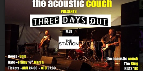 Three Days Out (+ The Station) tickets