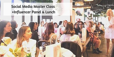 Instagram Accelerator + Influencer Meet&Greet + Lunch  tickets