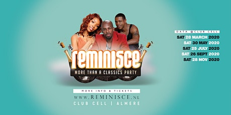 Reminisce @Club Cell Almere tickets