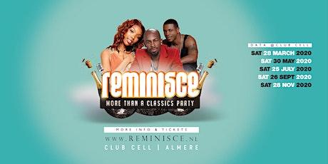Reminisce @Club Cell Almere ingressos