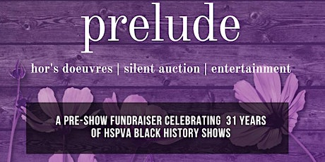 """PRELUDE to """"The Color Purple"""" tickets"""