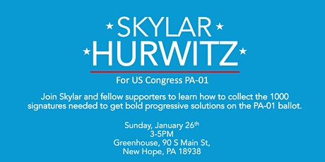 Ballot Petition Training and Social: Get Skylar on the PA-01 Ballot! tickets