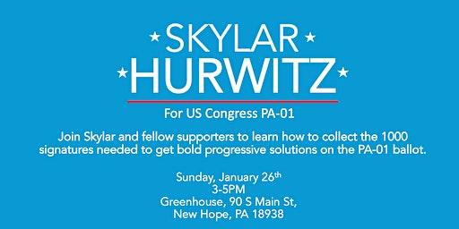 Ballot Petition Training and Social: Get Skylar on the PA-01 Ballot!