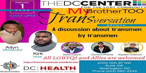 THE DC CENTER AND MY BROTHER TOO PRESENTS:TRANSVERSATIONS BRUNCH