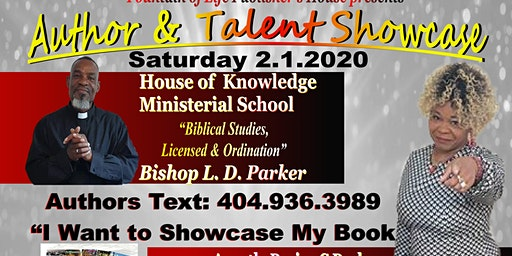Author & Talent Showcase ATL - Wow Inspirations ALL DAY - FREE Family Fun