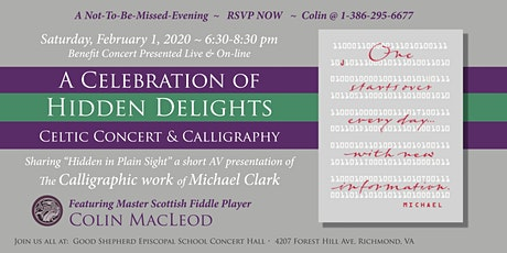 A Celebration Of Hidden Delights: Celtic Concert & Calligraphy tickets