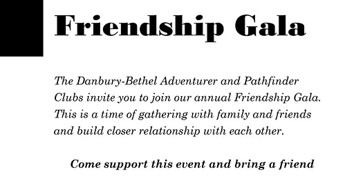 2020 Friendship Gala