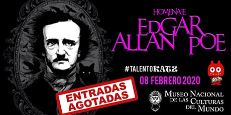 Homenaje Edgar Allan Poe boletos