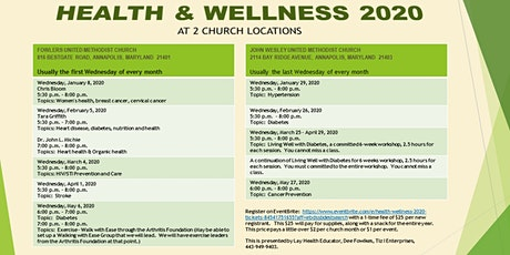 Health & Wellness 2020 tickets