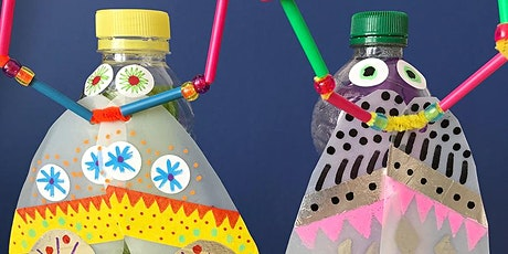 Family Lantern Making using recycled materials  for Nottingham Light Night tickets