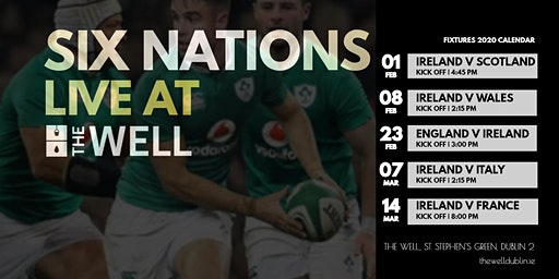 SIX NATIONS LIVE AT THE WELL