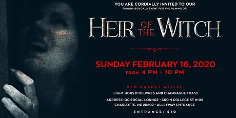 """Red Carpet Fundraising Gala for the filming of """" Heir Of The Witch"""" tickets"""