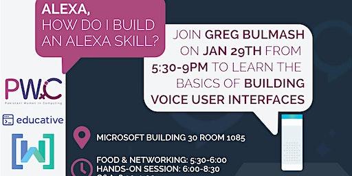 PWiC SEA: Learn to build an Alexa Skill