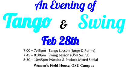 Tango & Swing Lesson and Social tickets
