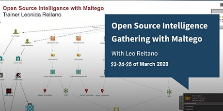 Advanced Open Source Intelligence Gathering with Maltego tickets