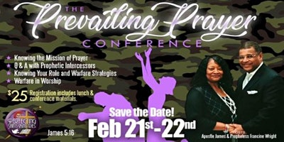 Prevailing Prayer: A Prophetic Prayer Conference