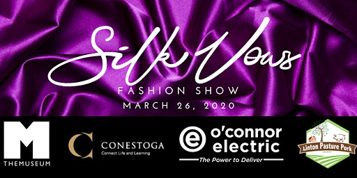The Silk Vows Fashion Show Fundraiser