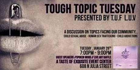 Tough Topic Tuesday tickets