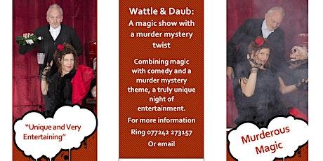 Murder Mystery Supper tickets