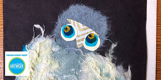 Owl Collage Workshop with Mary Ross