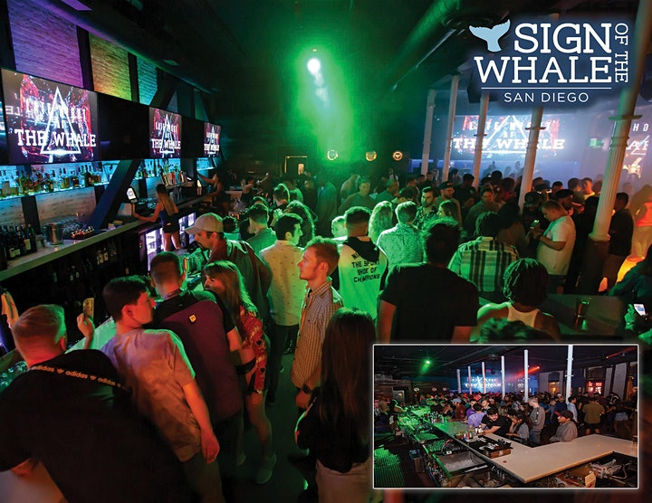Sign of the Whale Saturday Free Guest List image