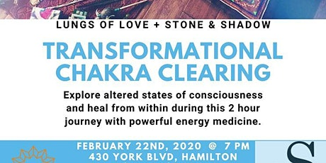 Transformational Chakra Clearing Session tickets