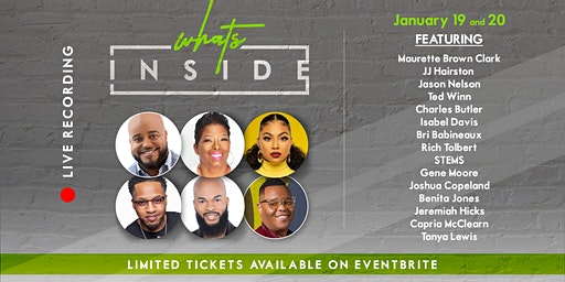 Fabian Morrison Presents 'What's Inside' LIVE Show Taping