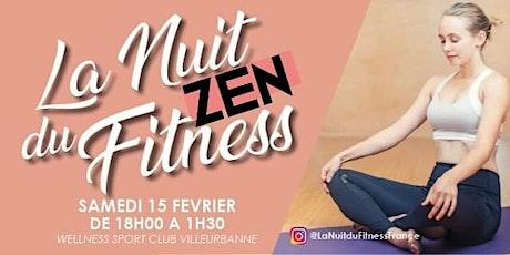 La Nuit Zen du Fitness billets