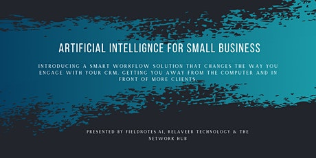 Artificial Intelligence for Small Business tickets